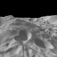 The Asteroid Vesta in the Light of Dawn