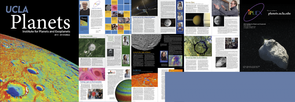 iPLEX newsletter highlights planetary research at UCLA