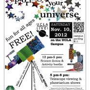 November 10, 2012: Explore Your Universe!
