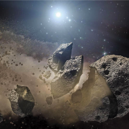 Researchers analyze extrasolar asteroids using light from distant stars