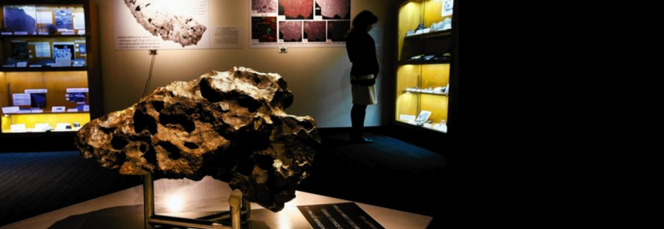 UCLA Meteorite Museum Gives Space Rocks Center Stage