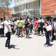 High school students experience science at UCLA during outreach visit